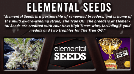 Cannabis Seeds Breeder - Elemental Seeds