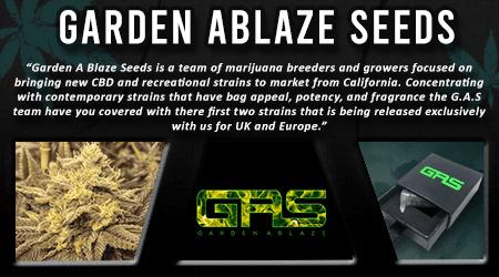 Cannabis Seeds Breeder - Garden Ablaze Seeds