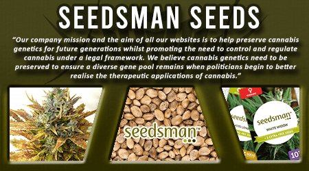 Cannabis Seeds Breeder - Seedsman Seeds