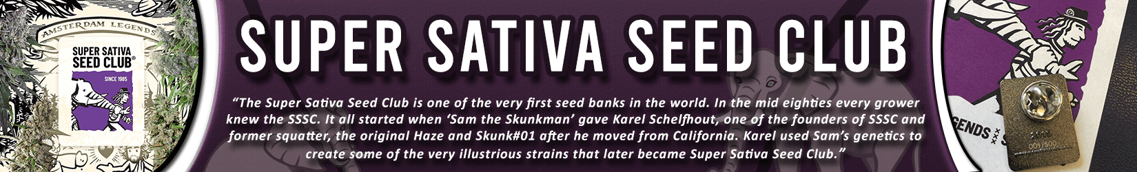 Cannabis Seeds Breeder - Super Sativa Seed Club
