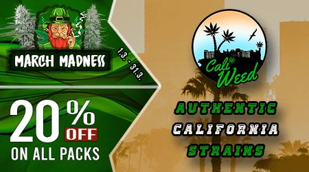 Cali Weed Cannabis Seeds Discount